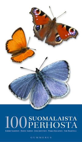 100 suomalaista perhosta