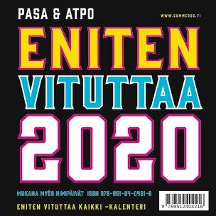 Eniten vituttaa 2020 Kalenteri