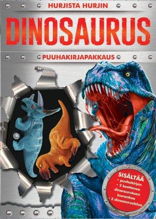 Hurjista hurjin dinosaurus –puuhakirjapakkaus